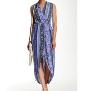 ASTR the Label high low maxi dress